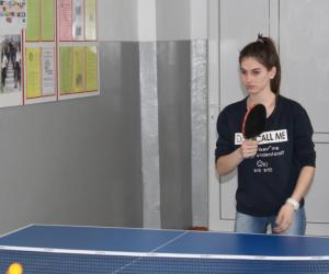 Личное первенство студентов по настольному теннису