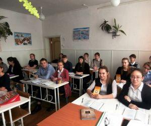 Профориентационные встречи в школах города Изобильного