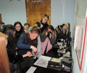 Студенты юридического факультета - на экскурсии в Отделе полиции №2 УМВД России по городу Ставрополю